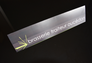 plaquette brasserie oucedon la ravoire graphiste savoie